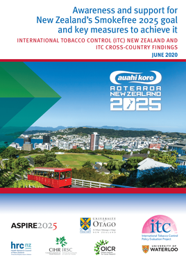 ITC New Zealand SF2025 report cover